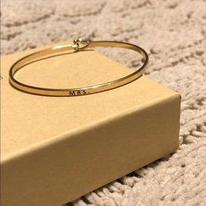 Jewelry - Mrs bracelet